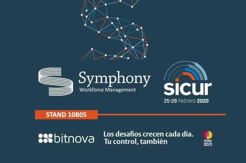 Symphony estará presente en la feria SICUR 2020
