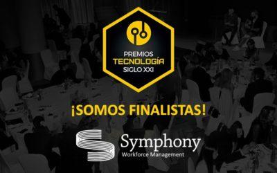 Symphony es finalista en los III Premios Nacionales de Tecnología S.XXI